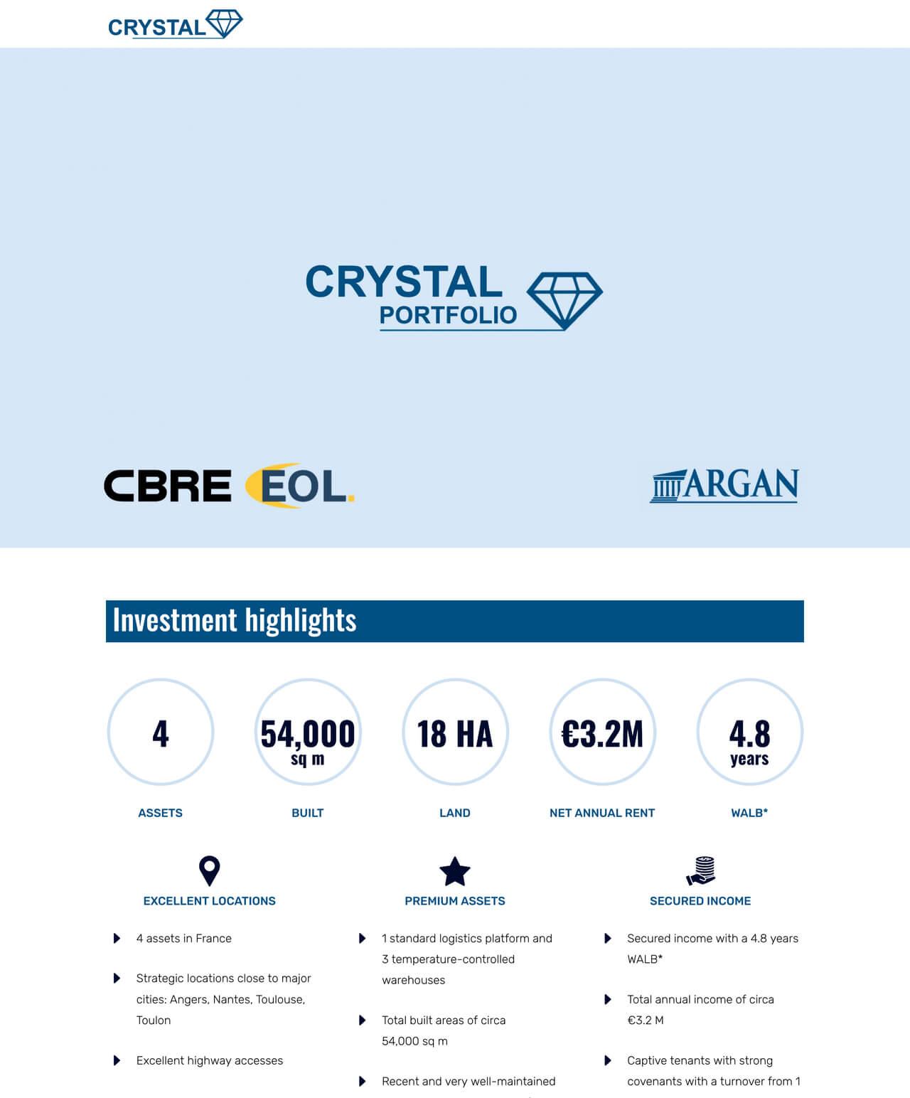 Création d'un site internet vitrine WordPress pour Crystal
